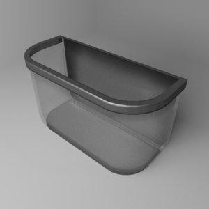 micro aquarium 3D model