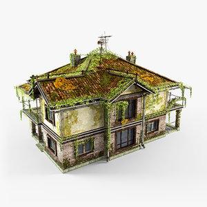 abandoned cottage 3D model