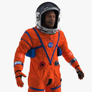 astronaut advanced crew escape 3D model