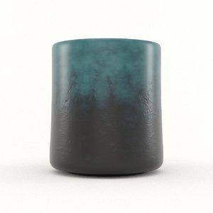 epoxy mug resin model