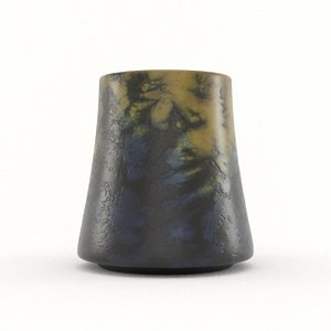 3D epoxy mug model