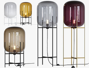 oda floor lamp 3D