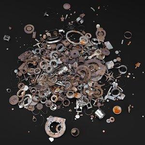 3D metal dump
