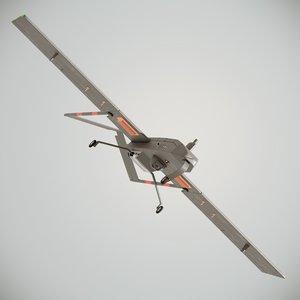 aai rq-7 shadow 200 3D model