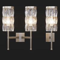 Tigermoth lighting - Stem wall light with crystal