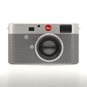 3D model camera nikon electronics