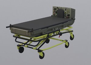 life support trauma icu 3D