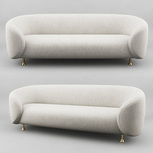 lucien sofa 3D model