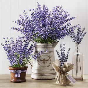 3D lavender life