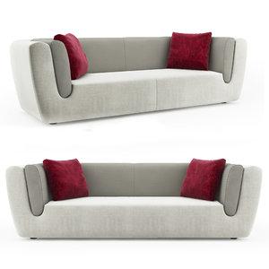 3D odeon sofa