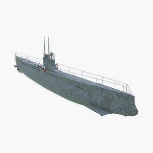 «minoga» submarine navy ship 3D