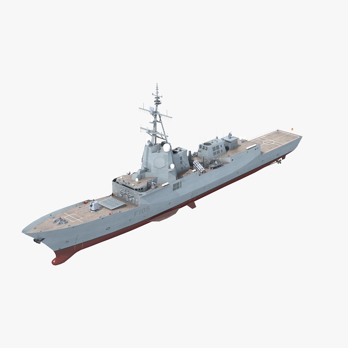 3D frigates spanish navy