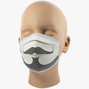 3D medical mask