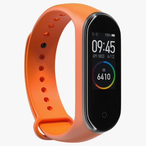 3D smart watch fitness tracker