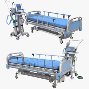 hospital ventilator bed model