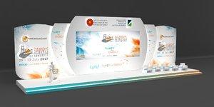 3D stage decoration