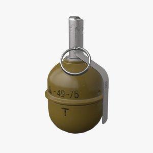 soviet grenade model