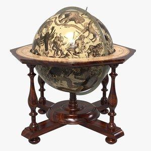 early celestial globe model