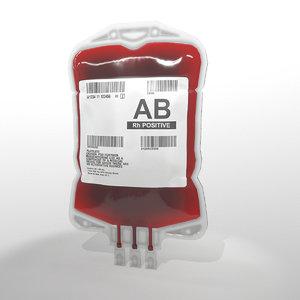 3D blood bag