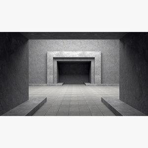 room interior 3D