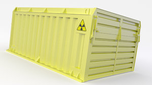 container nuclear 3D