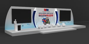 stage decoration model