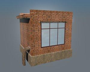 industrial bulding 3D model