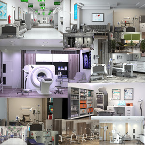 3D medical spaces megapack 12