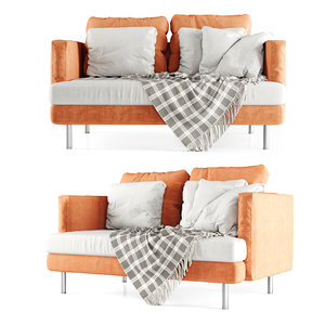 double sofa plaid model