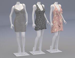 3D mannequins clothes model