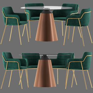 cult furniture harriet chair 3D model