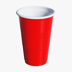 solo cup 3D model