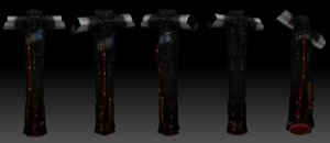 kylo rens saber model