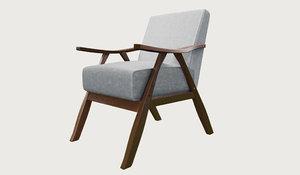 armchair sketchup 3D model