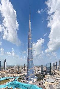 burj khalifa dubai 3D