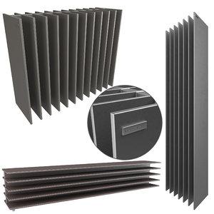 3D tt antrax radiator model