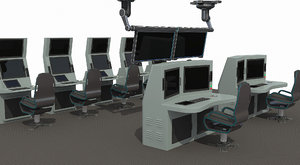 3D model operation command center