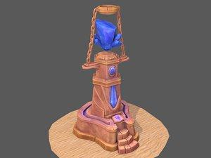 desert totem 3D model