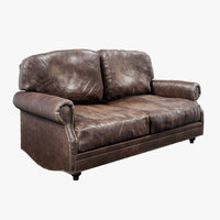 Leather Sofa for gamedev