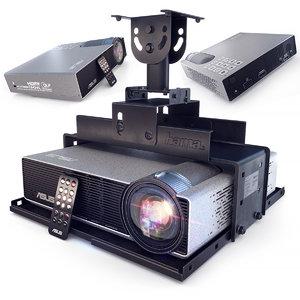 3D projector asus p3e model
