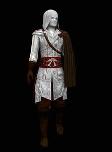 ezio outfit 3D