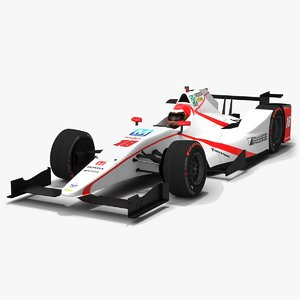 dale coyne racing indy 3D model
