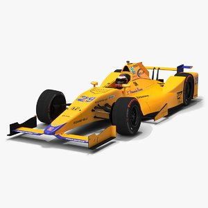 indy season 2017 car 3D model