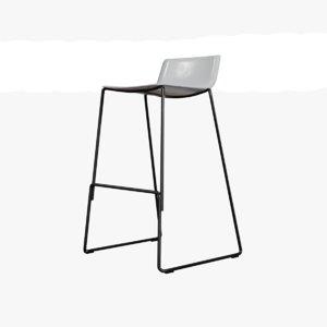 3D furniture stool chair model