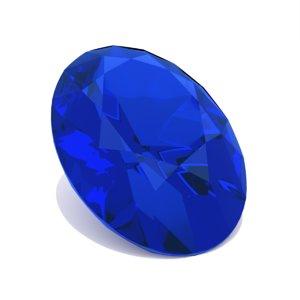sapphire cut oval - model