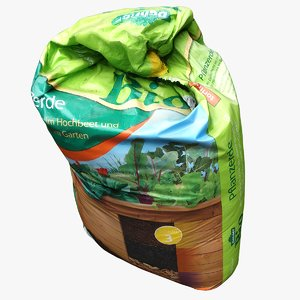 bag earth 3D model