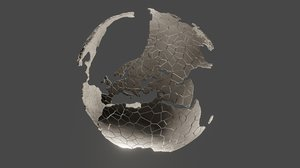 3D fractured earth model
