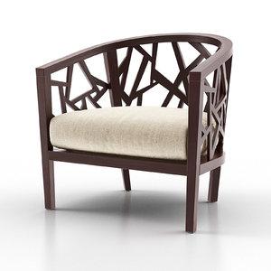 ankara truffle frame chair max