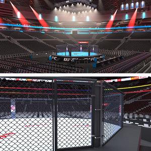 3D model ufc stadiums 2