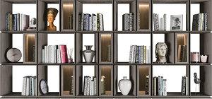 book bookcase 3D